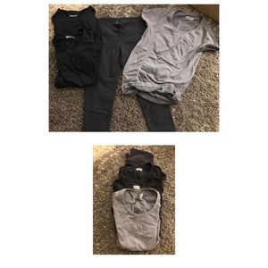 Lot Athleta work out clothes
